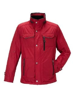Windcontrol Leichtjacke Rot Detail 4