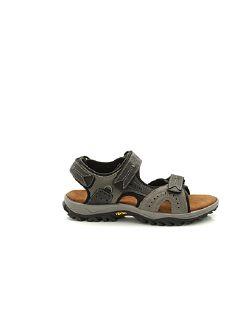 Klepper Trekking-Sandale Herr Grau Detail 3