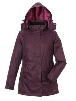 Klepper Aquastopjacke 2 in 1  Brombeere Detail 5