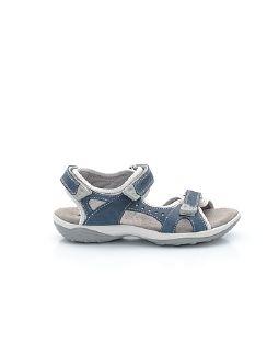 Klepper Klett-Sandale Dame Blau Detail 5